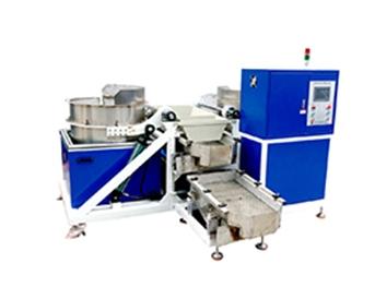 双桶自动卸料磁力研磨机
